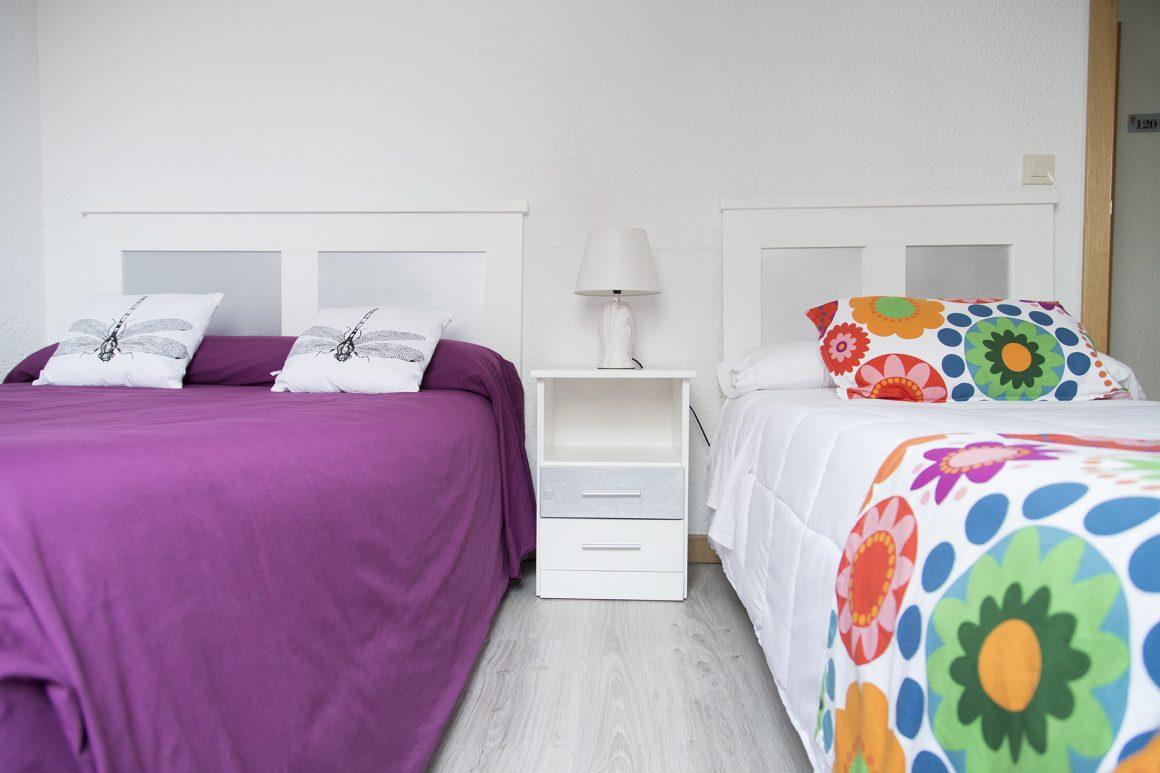 Habitación triple (doble + individual)